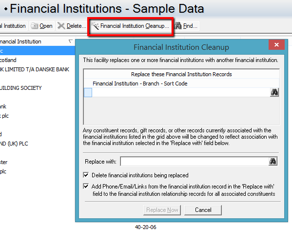 Sort it out! Importing bank details into Raiser's Edge™ when required  fields are missing - Omatic Software