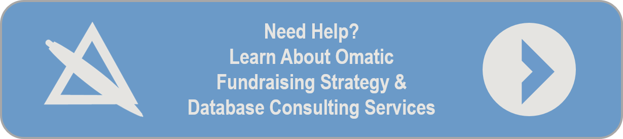 Database Consulting Services for Non-Profits