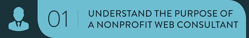 Understand the purpose of a nonprofit strategic consultant.
