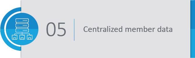 Centralized member data