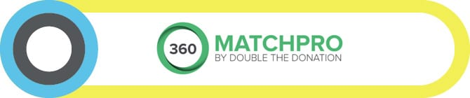 360MatchPro's Salesforce app for nonprofits helps organizations raise funds through matching gifts.