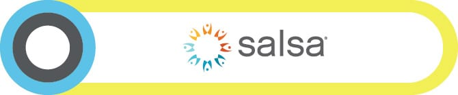 SalsaLabs offers their fundraising software as a Salesforce integration for nonprofits.